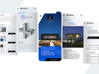 Technal Pro website Mobile first