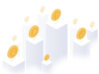 Coinigence - Landing page illustration
