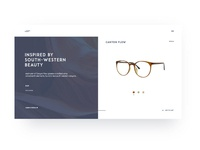 Gary's Glasses Product Page
