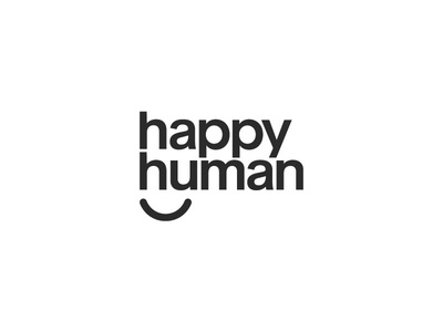 New Happy Human Logo Concept