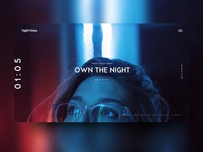 NightVision Eyewear Homepage