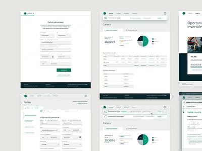 Dozen: a platform easy to invest 1/3 investments platform investment startup investors investor digital product design ux ui digital design