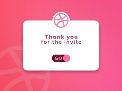 Dribbble First Shot invite dribbble