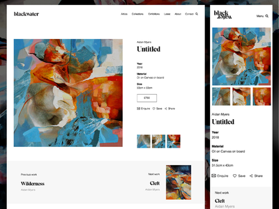 Gallery Product Page