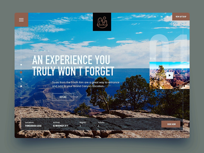 Grand Canyon Web Page