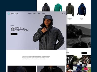 E-commerce Web Page