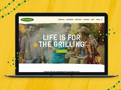 Outback Barbecues Homepage