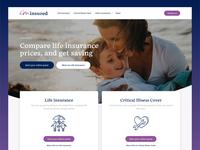 I'm Insured Homepage Design