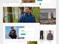 FiveMile E-commerce Homepage
