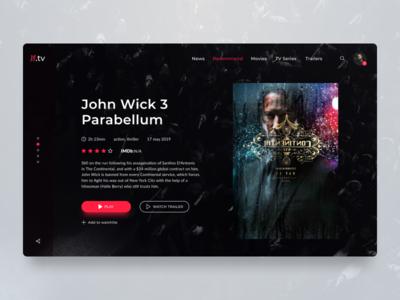 Jhon Wick 3 prewiew concept