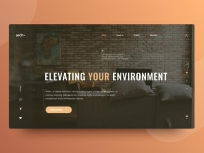 Arch+ home screen concept