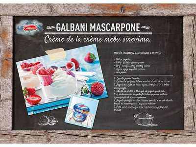 Paper table mats for Lactalis Group illustration collage photography food advertising culinary vintage graphic design agency 2d