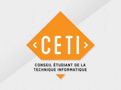CETI 2 logo shield design branding logo design tech geek school