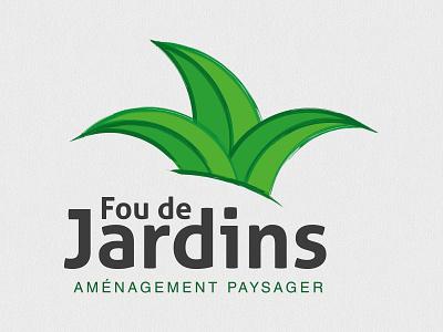 Landscaping Artist Logo joker artist lanscaping brand identity branding logo