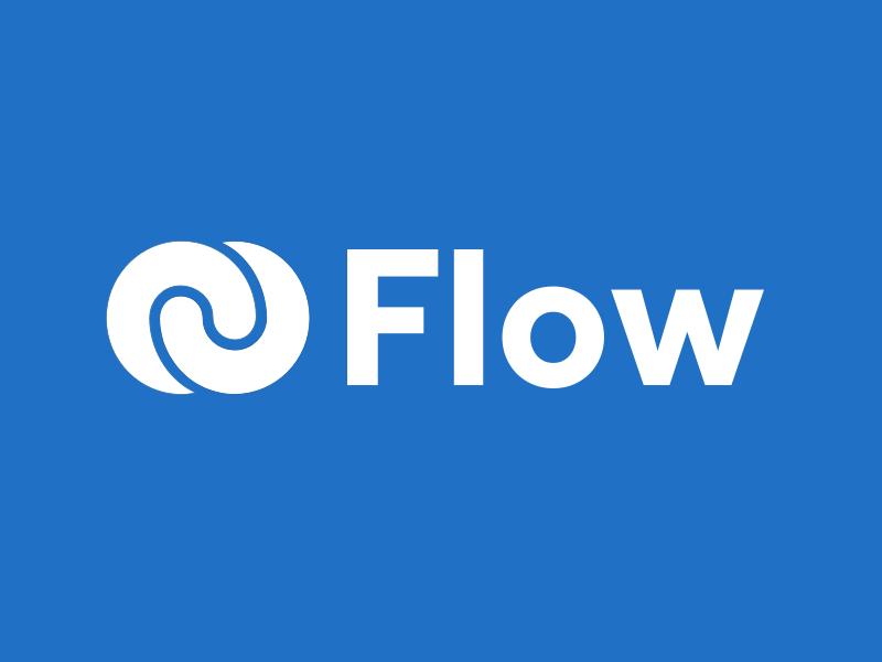 Flow Logo brand logo flow