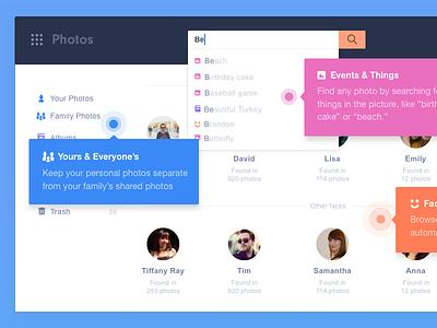 App highlights flat color whitespace bright webapp product ui app