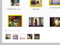 Image Selector UI
