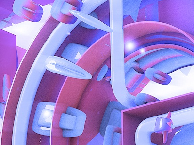 A.K.A Craig 3d c4d render typography type text effects vray