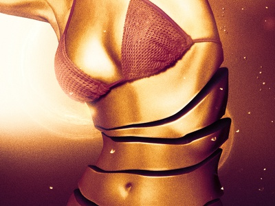 Sugar Brown desiginspiration model concept art photomanipulation photomontage