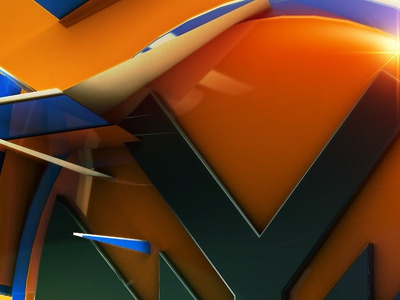 Nyk Original Edited Blue Small render 3d typo type cinema4d typography effects