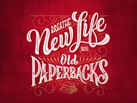Breathe New Live into Old Paperbacks