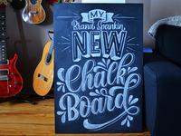 New Chalkboard