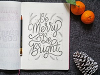 Be Merry Sketch