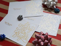 Hand-Drawn Holiday Cards