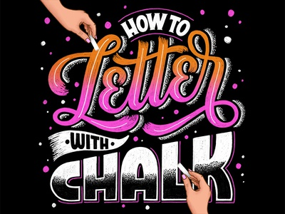 How to Letter with Chalk