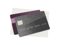 Stylized Credit Cards