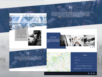 LandingPage for HH Investment Corp