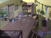 HELLO DRIBBBLE! / Animation background