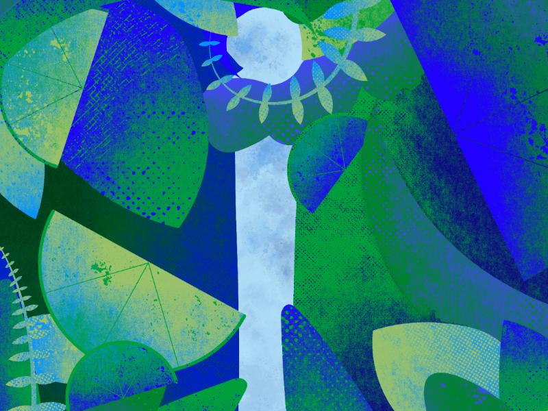Letter i - 36 Days illustration graphicdesign gfx botanicals letterform 36days-i 36daysoftype
