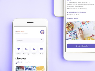 influencer Market Place Apps clean ui design app uiux ux ui design influencer marketplace design influencer apps influencer clean app apps design
