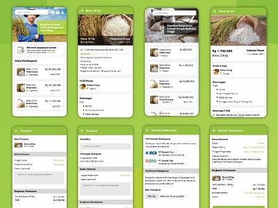 Farmer House Application 2021 farm house farmer farming farm apps farmers market design clean ux design app ui design ui clean app ux uiux