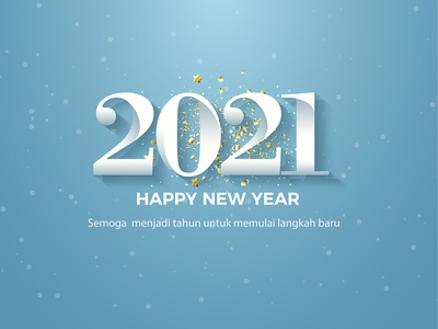 Happy New years 2021 icon branding clean vector illustration design happy new year 2021 new years happy new year 2021