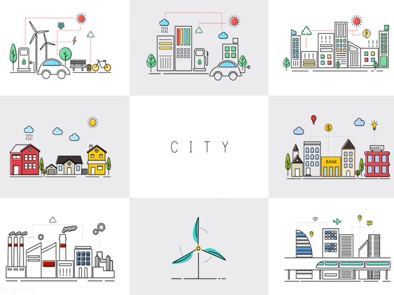 Free: City Vectors