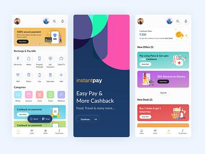 Payment App design ecommerce minimal design payemnt app ux design mobile app design ui design finance app bank