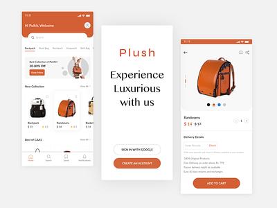 Ecommerce App Design web design ecommerce shop creative design mobile app branding illustration products app ecommerce app luxury brand ux design ui ui design design