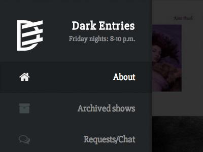 Dark Entries Radio dark entries