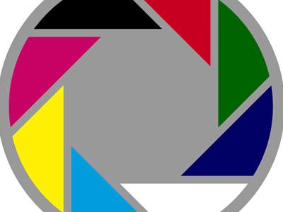 Color shutter aperture shutter rgb cmyk