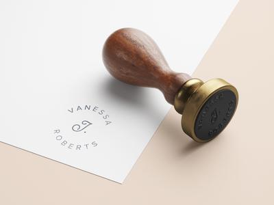 Vanessa J. Roberts | Logo Concept