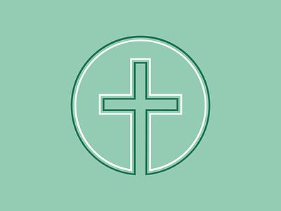 IBF | Flyer/Poster Element illustrator illustration flier designer christian designer graphic designer graphic design designer gráfico vector line work linework green the cross jesus christian design flyer design church design church cross