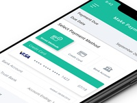 iPhone X Payment UX/UI