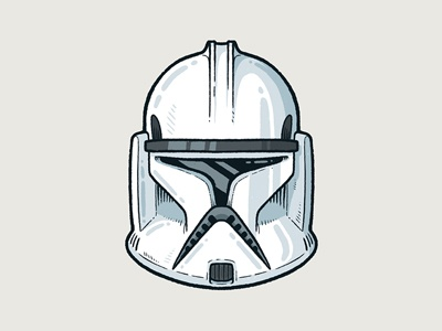 Clonetrooper popculture drawing icon illustration procreate character clonetrooper starwars