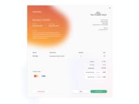 Invoice Design -  Modal