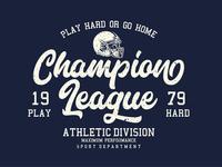 Football Logo Lettering