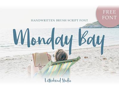 Font Freebie of the day! hand lettering modern calligraphy script freebies freebie font