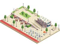 City park infrastructure