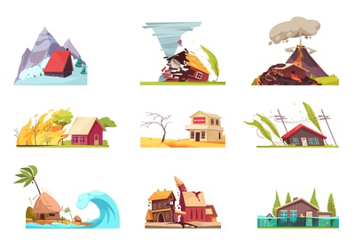 Natural disasters compositions